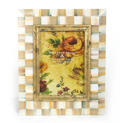 $115.00 Parchment Check Frame - 5 In.  X 7 In.