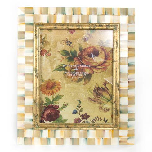 $145.00 Parchment Check Frame - 8 In.  X 10 In.