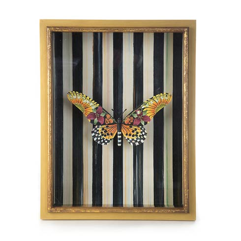 $148.00 Monarch Butterfly Shadow Box