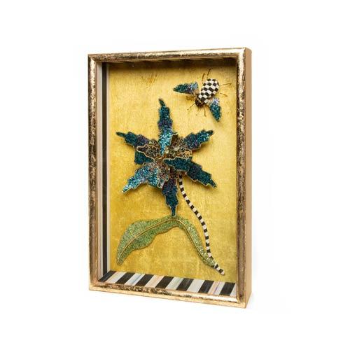 $198.00 Beaded Tulip Shadow Box