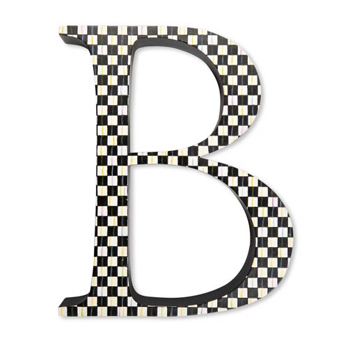 $138.00 Courtly Check Letter - B