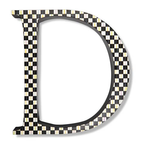 $138.00 Courtly Check Letter - D