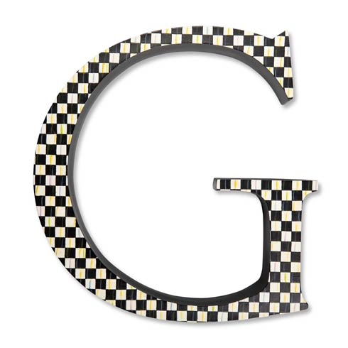 $138.00 Courtly Check Letter - G