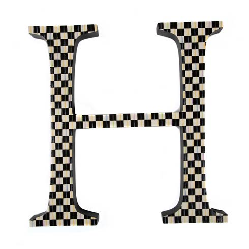 $138.00 Courtly Check Letter - H