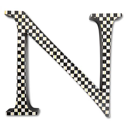 $138.00 Courtly Check Letter - N