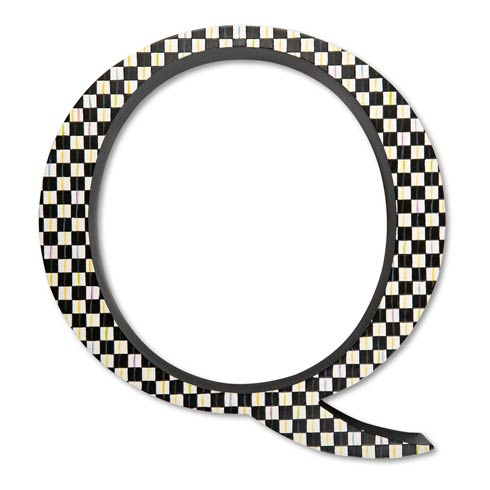 $138.00 Courtly Check Letter - Q