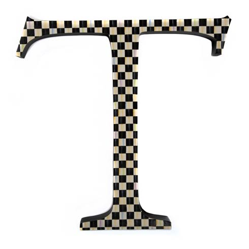 $138.00 Courtly Check Letter - T