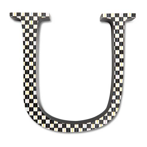 $138.00 Courtly Check Letter - U