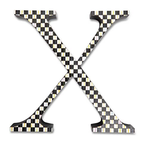 $138.00 Courtly Check Letter - X