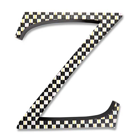 $138.00 Courtly Check Letter - Z
