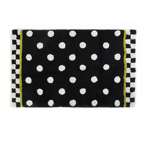 $145.00 Dotty Bath Rug - Large