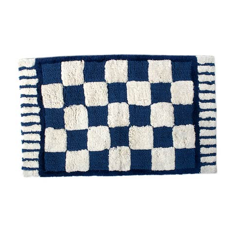 $80.00 Royal Check Standard Bath Rug