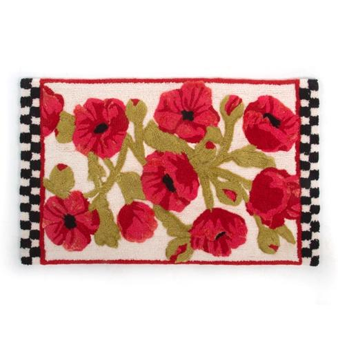 $80.00 Poppy Bath Mat
