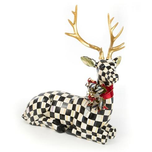 $825.00 Courtly Check Resting Deer