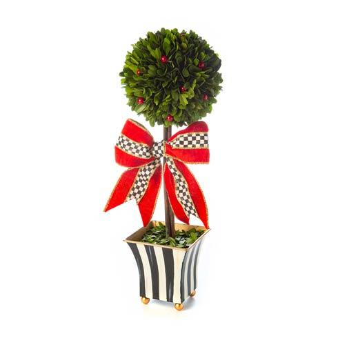 $148.00 Classic Courtly Boxwood Topiary - Medium