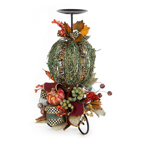 $138.00 Verdigris Candle Stand - 20""