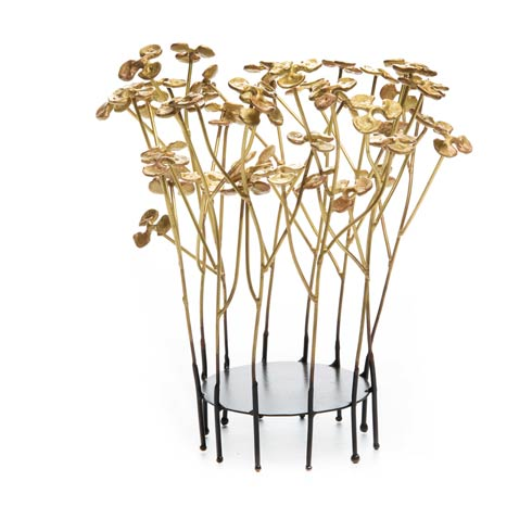 $198.00 In Bloom Pillar Candle Holder - Small