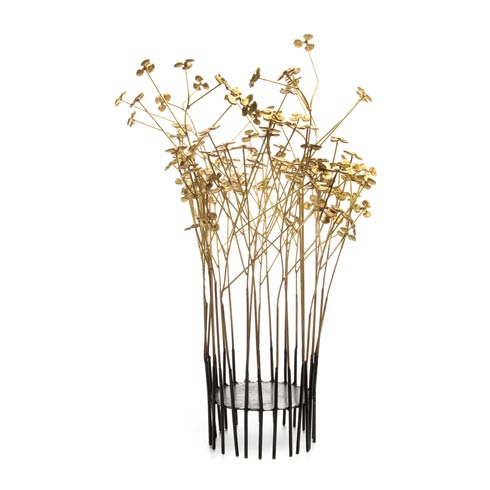 $258.00 In Bloom Pillar Candle Holder - Large
