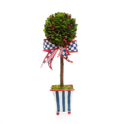 $58.00 Boxwood Topiary - Americana