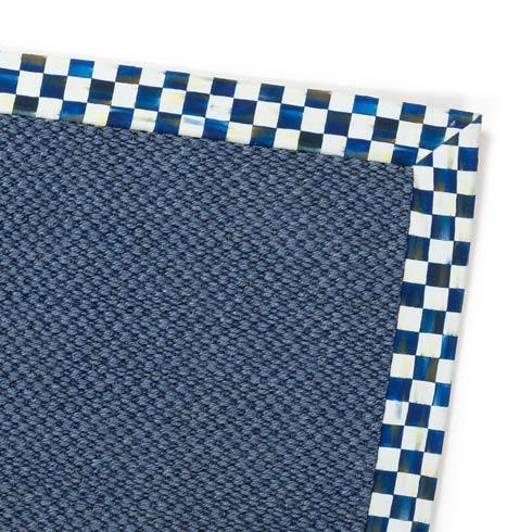 $895.00 Blue Sisal Rug - 8\' X 10\'