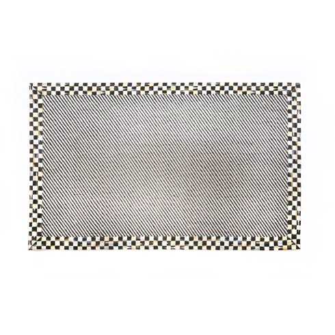 $100.00 Courtly Twill Rug - 2\' X 3\'