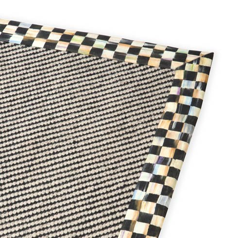 $495.00 Courtly Twill Rug - 6\' X 9\'