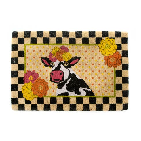 $90.00 Frida Cowlo Entrance Mat