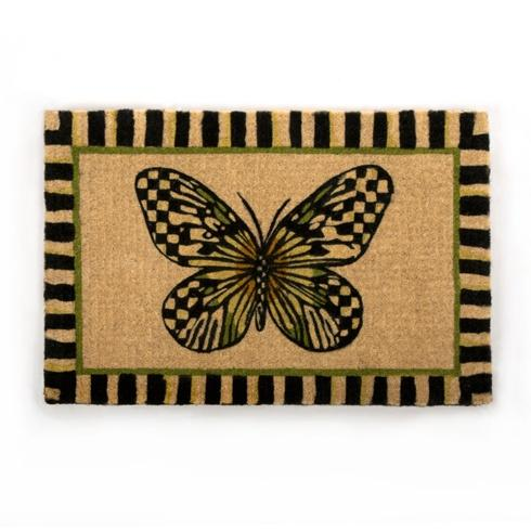 MacKenzie-Childs  Floor Coverings Butterfly Entrance Mat $120.00