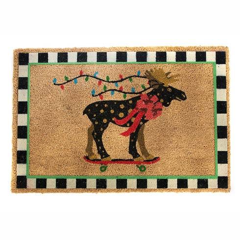$90.00 Moose On Parade Entrance Mat