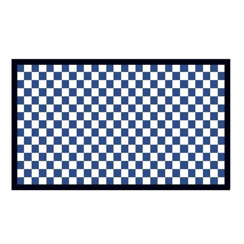 """$115.00 Check It Out Rug - 2\'3"""" x 3\'9"""" - Royal"""