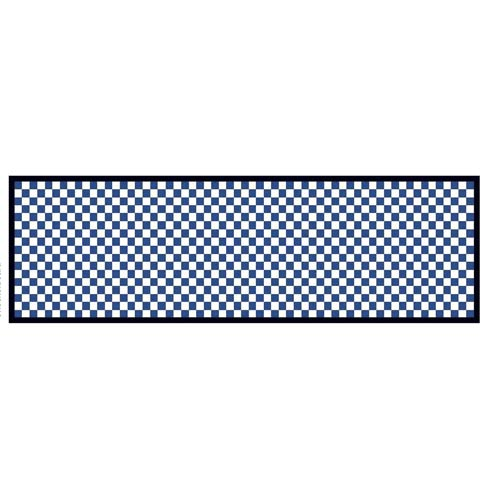 """$325.00 Check It Out Rug - 2\'6""""x 8\' Runner - Royal"""