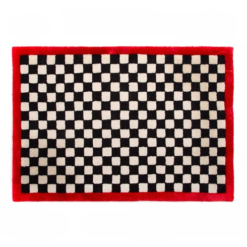 $115.00 Check It Out Rug - 2\'3\' x 3\'9\'- Red