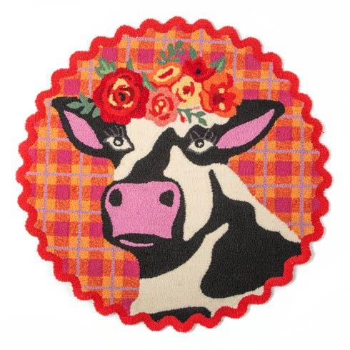 $158.00 Frida Cowlo Rug - 3\' Round