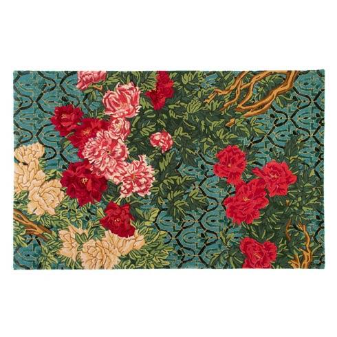 $995.00 Gabrielle\'s Garden Rug - 5\' x 8\'