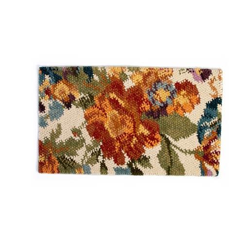$425.00 Autumn Flowers Rug - 3\' x 5\' - Ivory