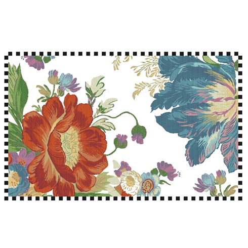 $725.00 Flower Market Reflections Rug - 5\' x 8\' - Ivory