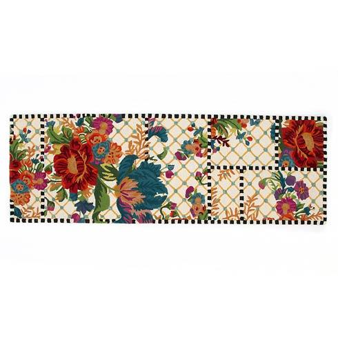 $450.00 Flower Market Trellis Rug - 2\'8\' X 8\' Runner