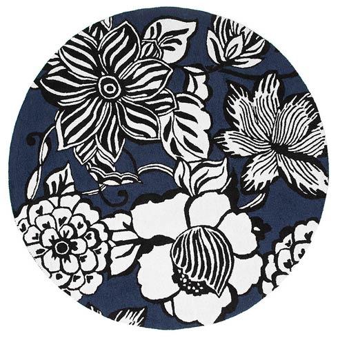 $595.00 Avant-Garden Rug - 6\' Round - Blue