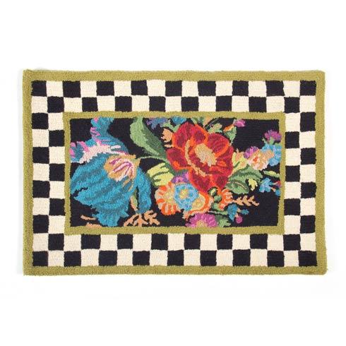 MacKenzie-Childs Flower Market Decor Rug - 2\' x 3\' $185.00