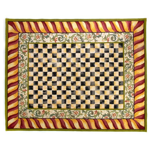 $1,695.00 Rug - 8\' X 10\' - Red & Gold