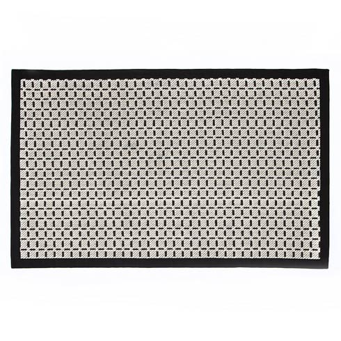$175.00 Bauhaus Check Rug - 3\' X 5\' - Black & White