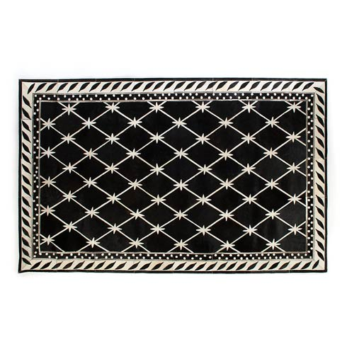 $1,495.00 Brighton Pavilion Hair On Hide Rug - 5\' X 8\'