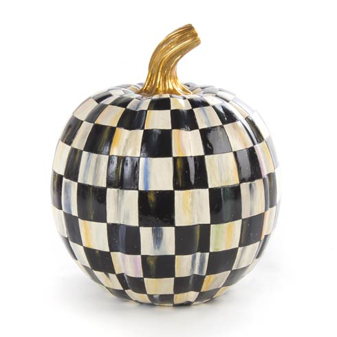 $64.00 Courtly Check Pumpkin - Small