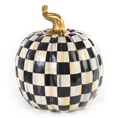 $180.00 Courtly Check Pumpkin - Large