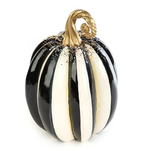 $135.00 Beaded Stripe Pumpkin - Medium