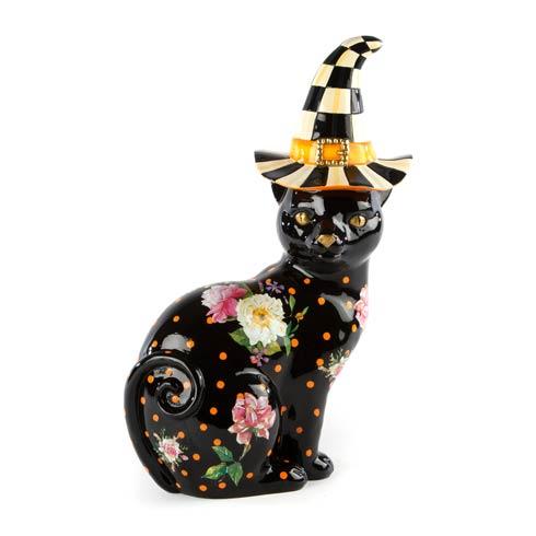 $98.00 Black Flower Market Cat