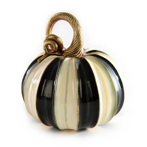 $58.00 Elegant Stripe Pumpkin - Small