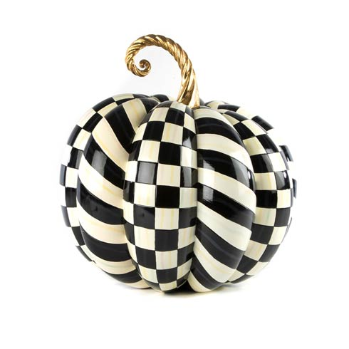 $275.00 Courtly Check Gold Medal Pumpkin