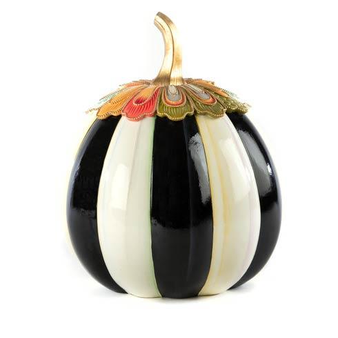 $195.00 Large Stripe Pumpkin