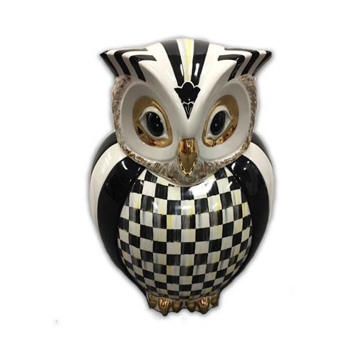 $288.00 Courtly Owl Cookie Jar